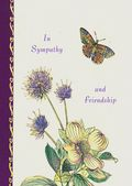 Sympathy - Flowers and Butterfly
